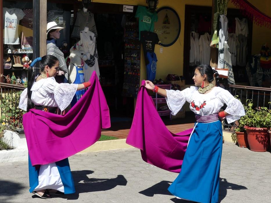 Dansatoare Ecuador