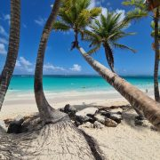 Plaja tipica Republica Dominicana
