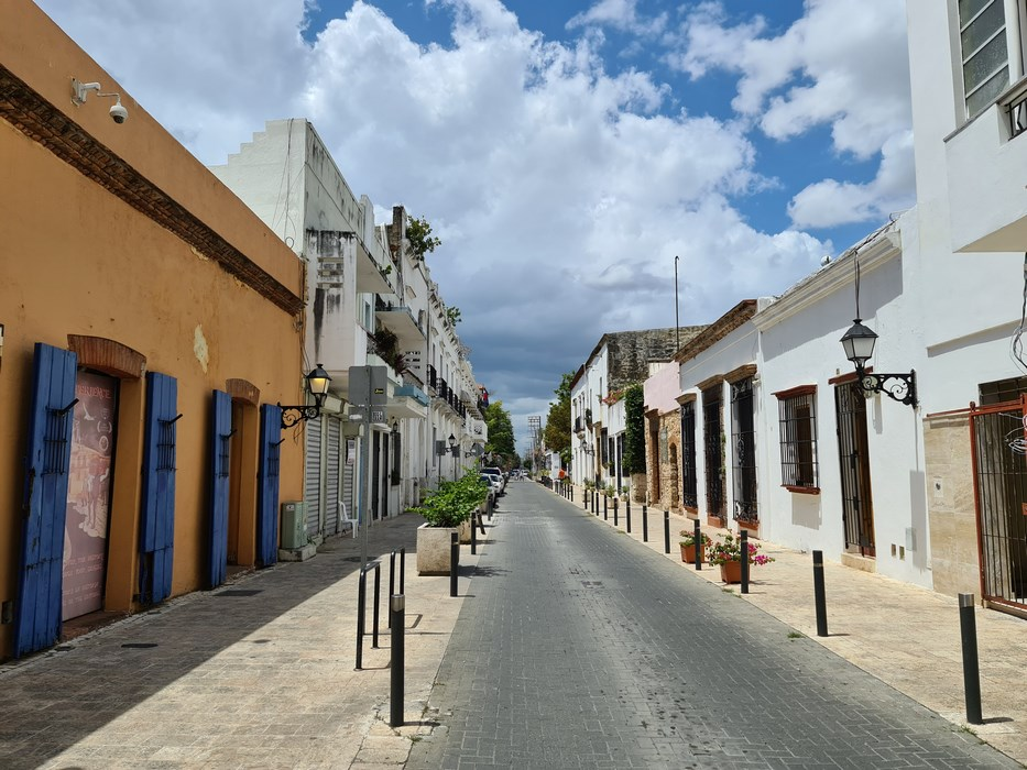Strazi Santo Domingo colonial