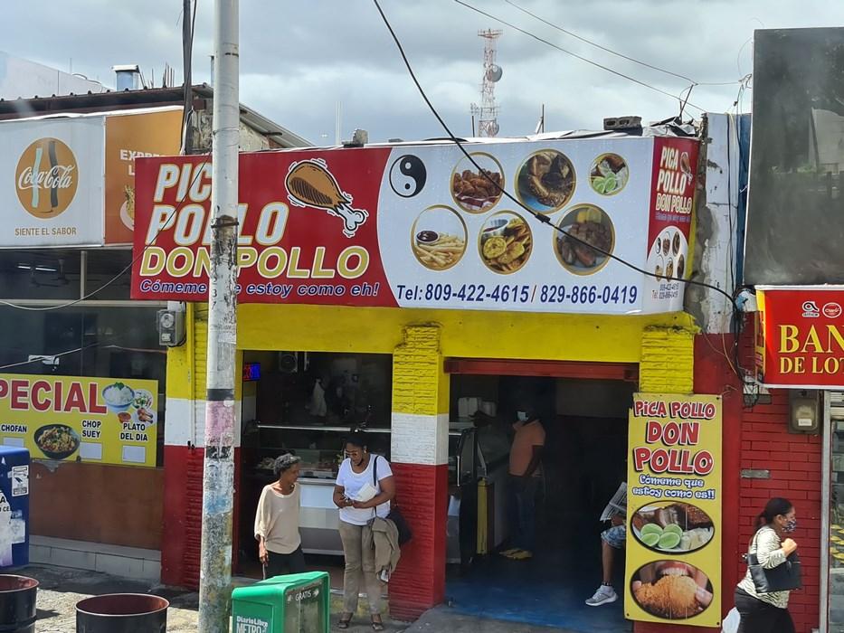 . Fast food Santo Domingo