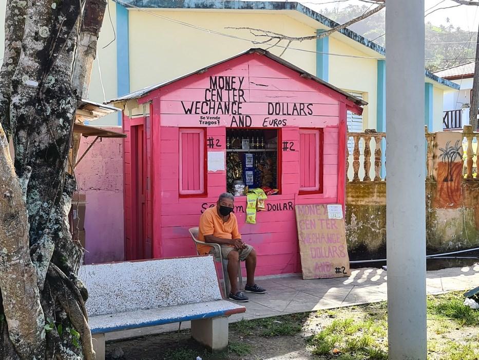 Exchange office Republica Dominicana