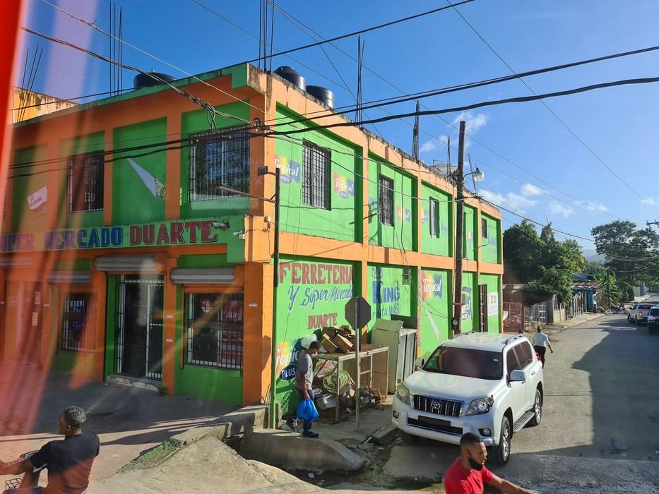 case colorate in Republica Dominicana