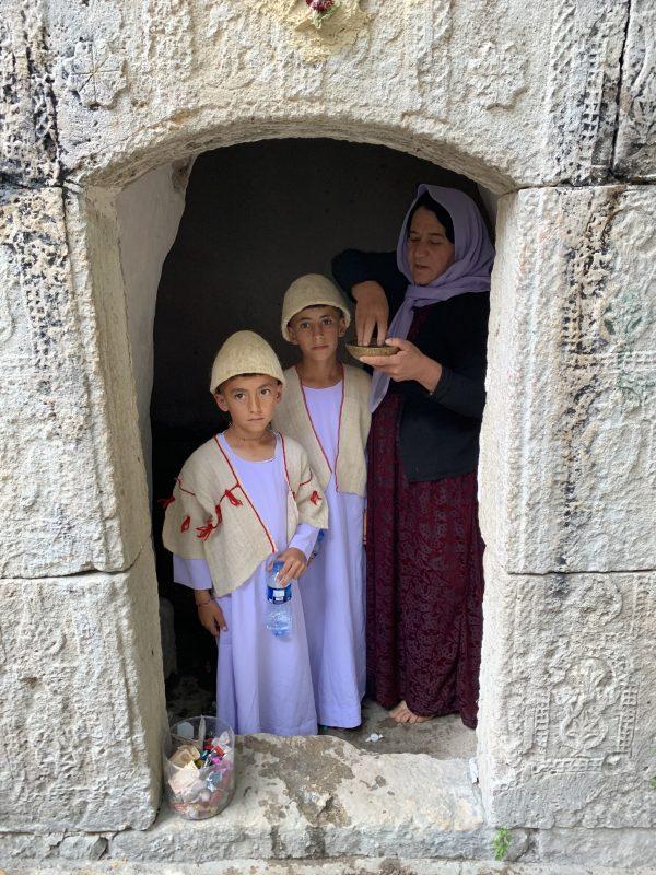 Botez la Yazidi
