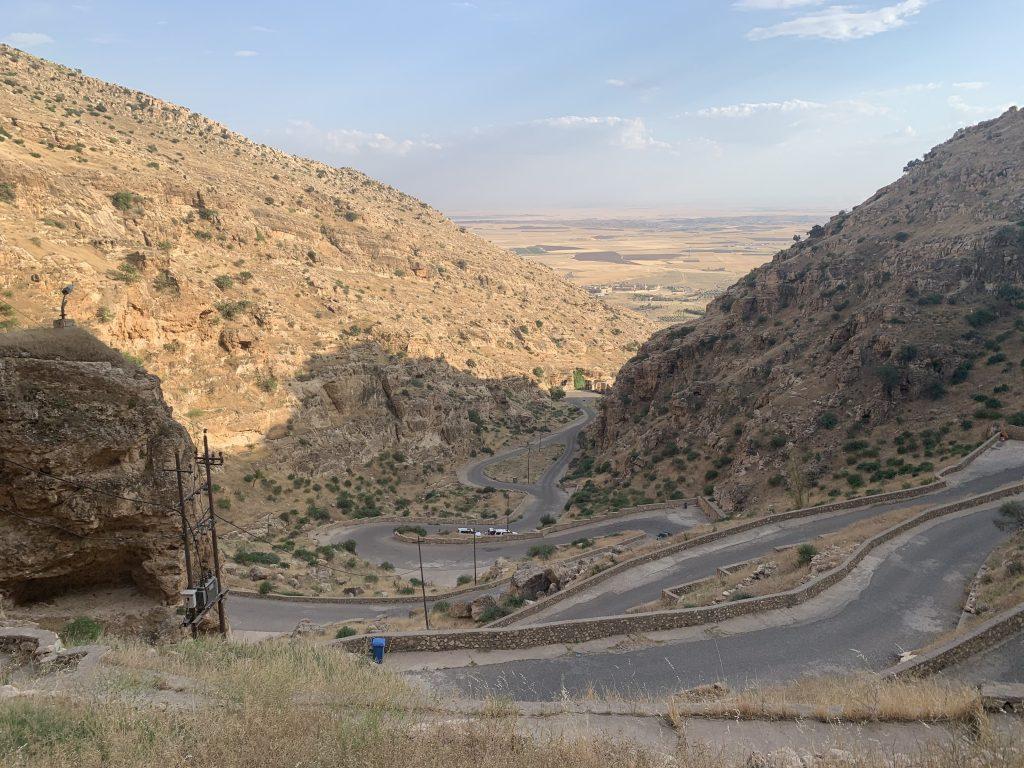 Drumul pana la manstirea Rabban Hormizd