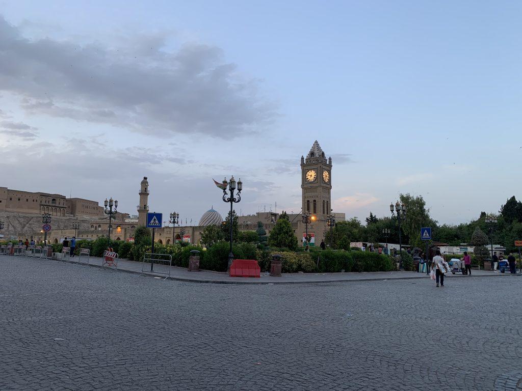 Erbil seara