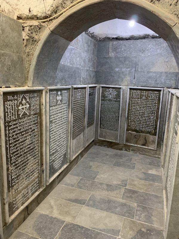 Manastirea Rabban Hormizd interior