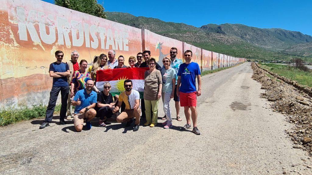 Primul grup de romani in Kurdistan