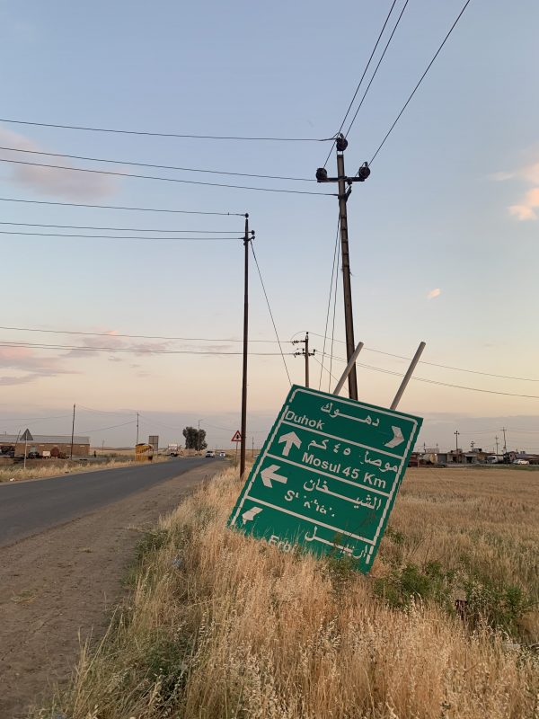 The way to Mosul