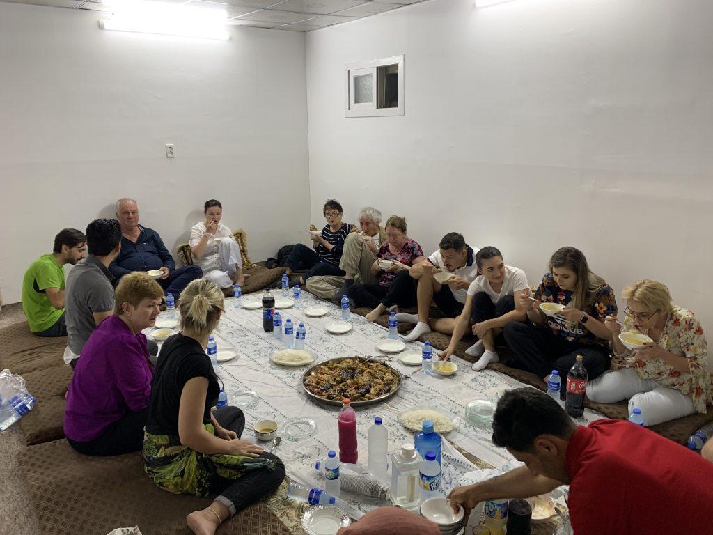 la cina traditionala acasa la Karwan