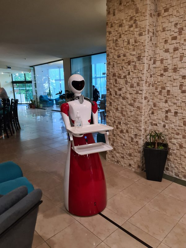 Robot dezinfectare