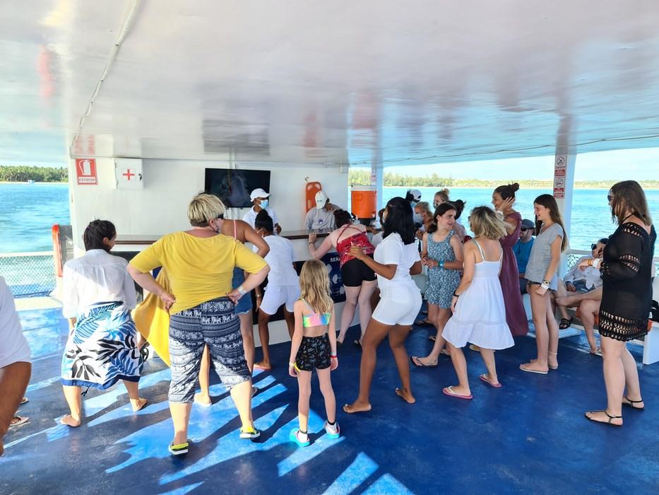Party boat Seaquarium