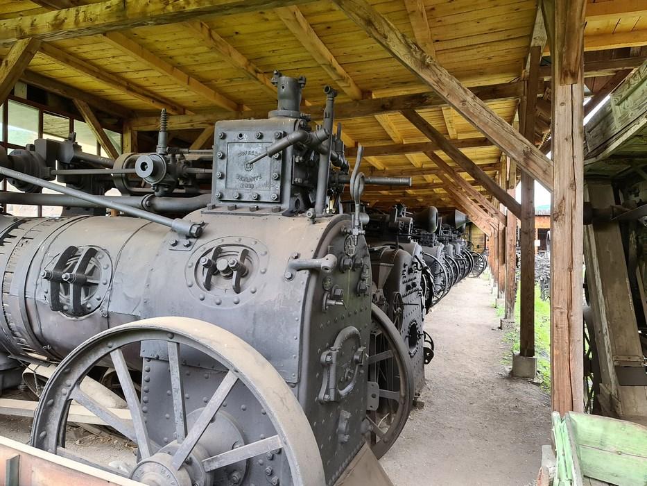 Masini agricole istorice Cernat
