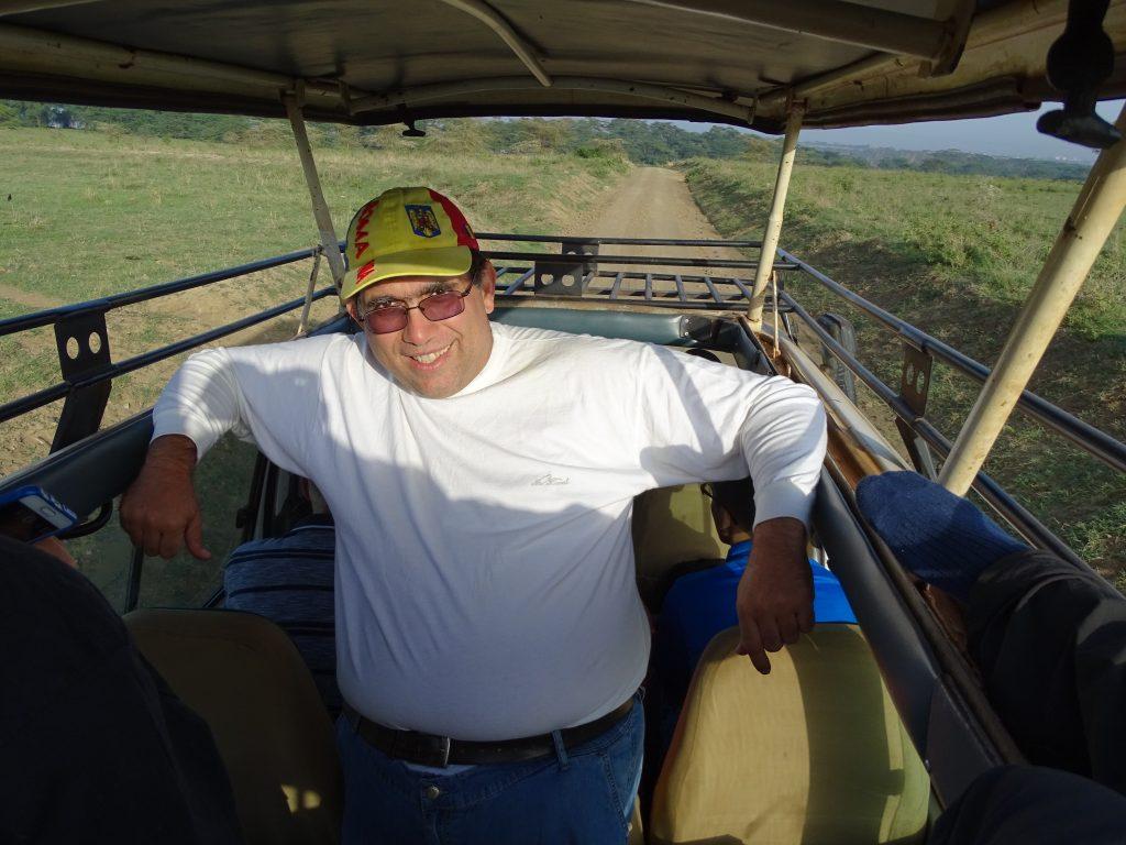 Vehicul safari Kenya