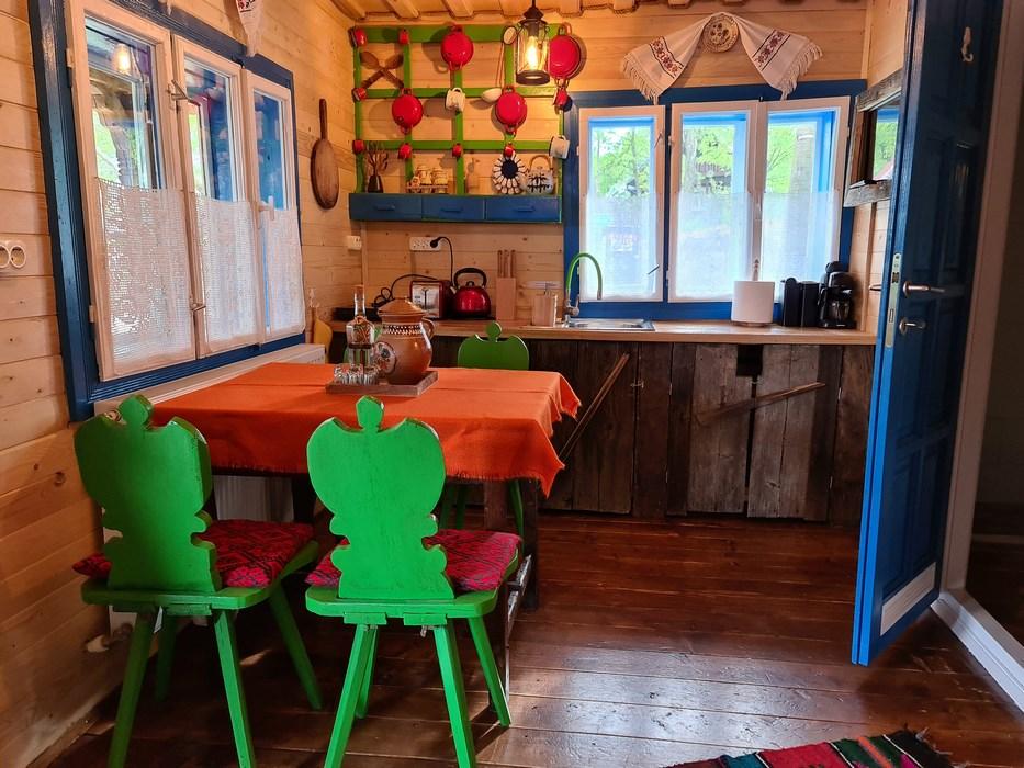 Bucatarie casa lui Pistau