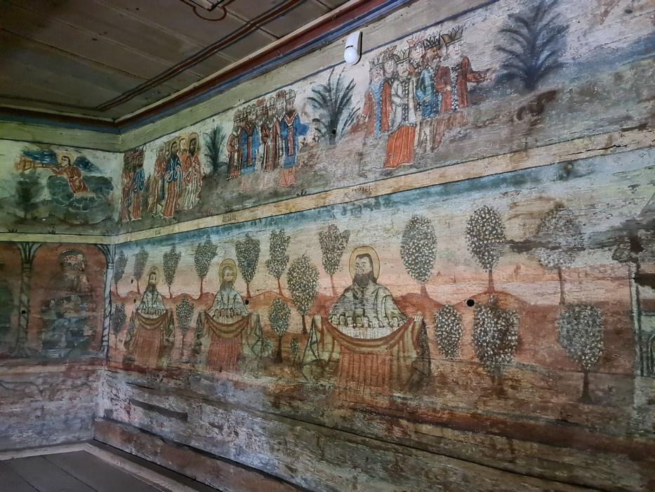 Picturi biserica Rogoz