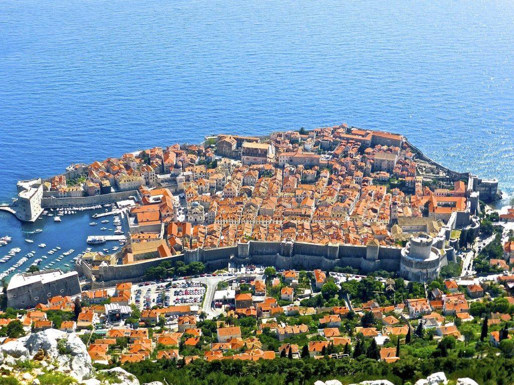Dubrovnik de sus