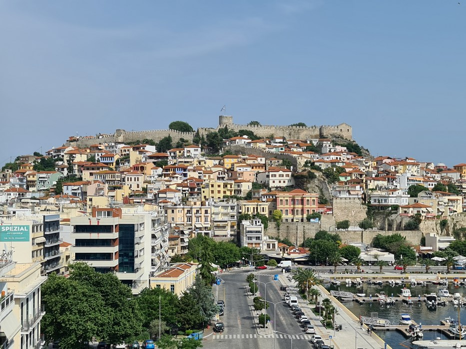 Kavala orasul vechi