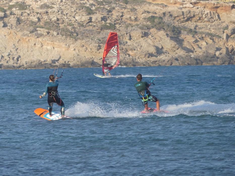 Kite surfing in Rhodos
