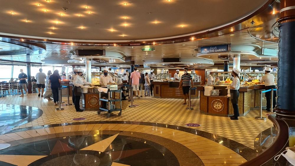 Bufet Jewel of the Seas