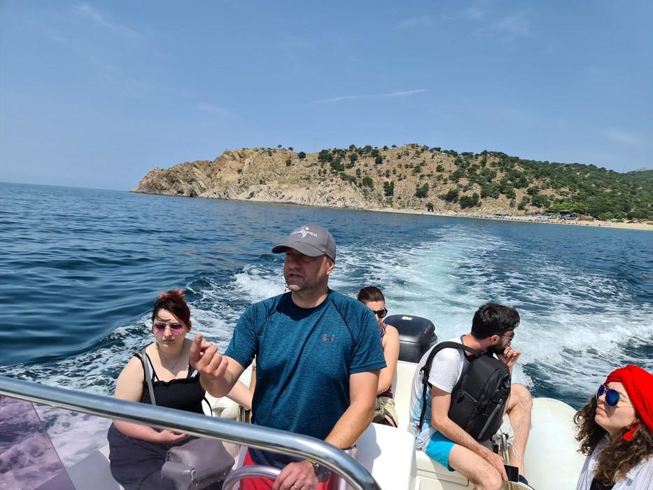 Excursia cu barca Samothraki