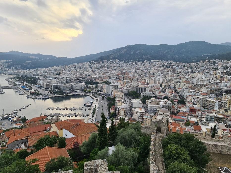 Panorama din cetate