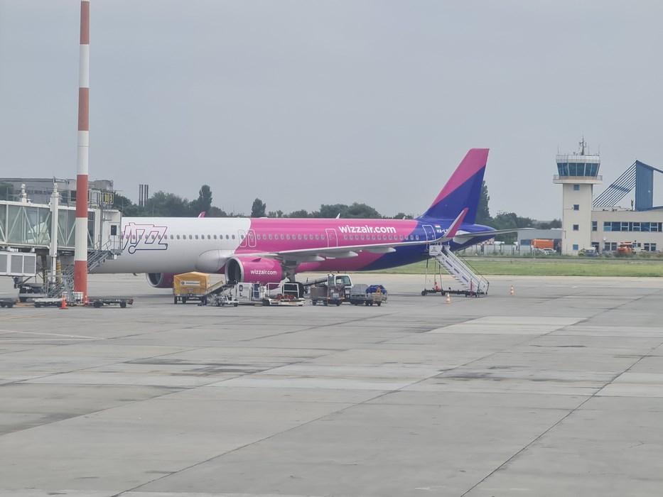 Wizz Air la Otopeni