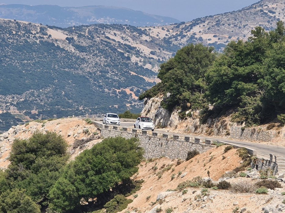 Sosea pe muntele Ainos