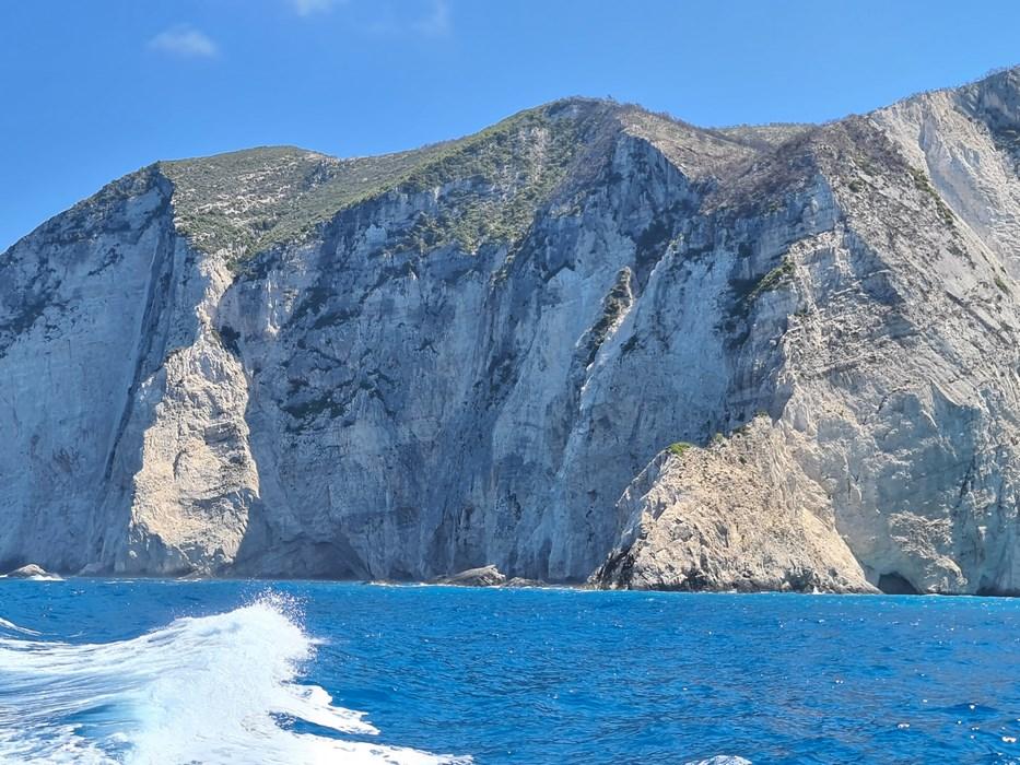 Zakynthos cliffs