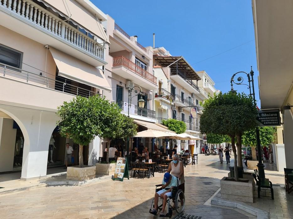 Strada pietonala Zakynthos