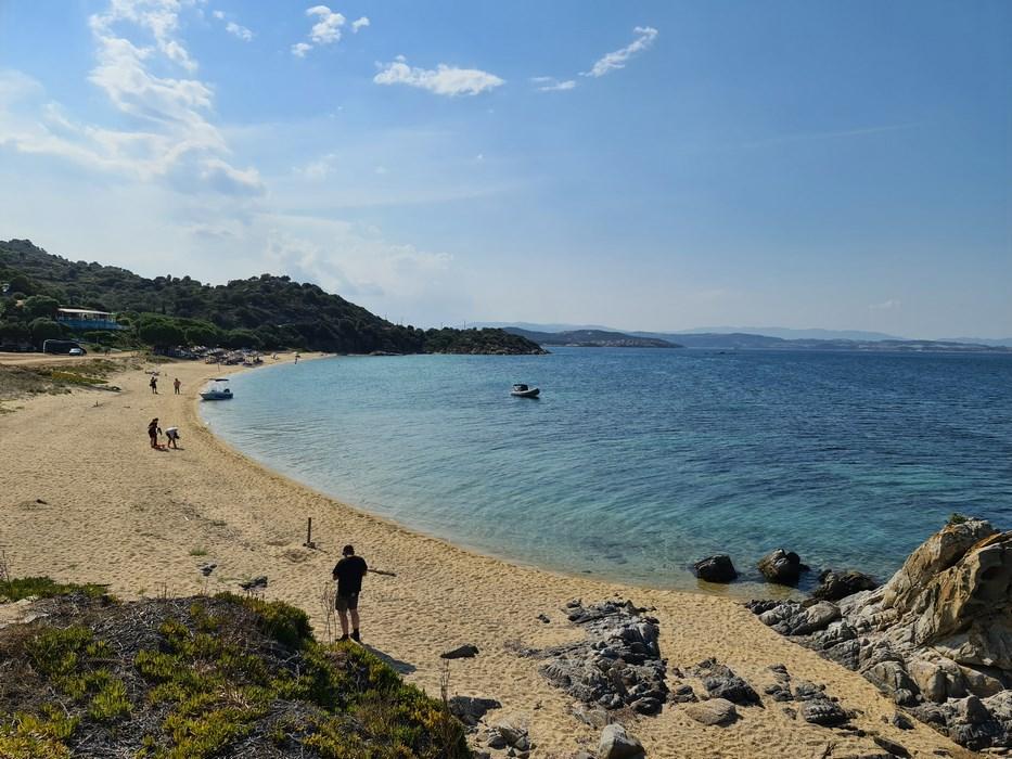 Beach in Ammouliani