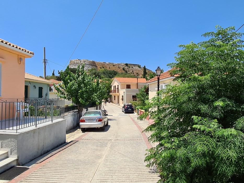 Drumul spre cetatea Kefalonia