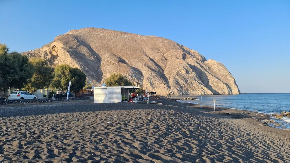 Plaja neagra Santorini