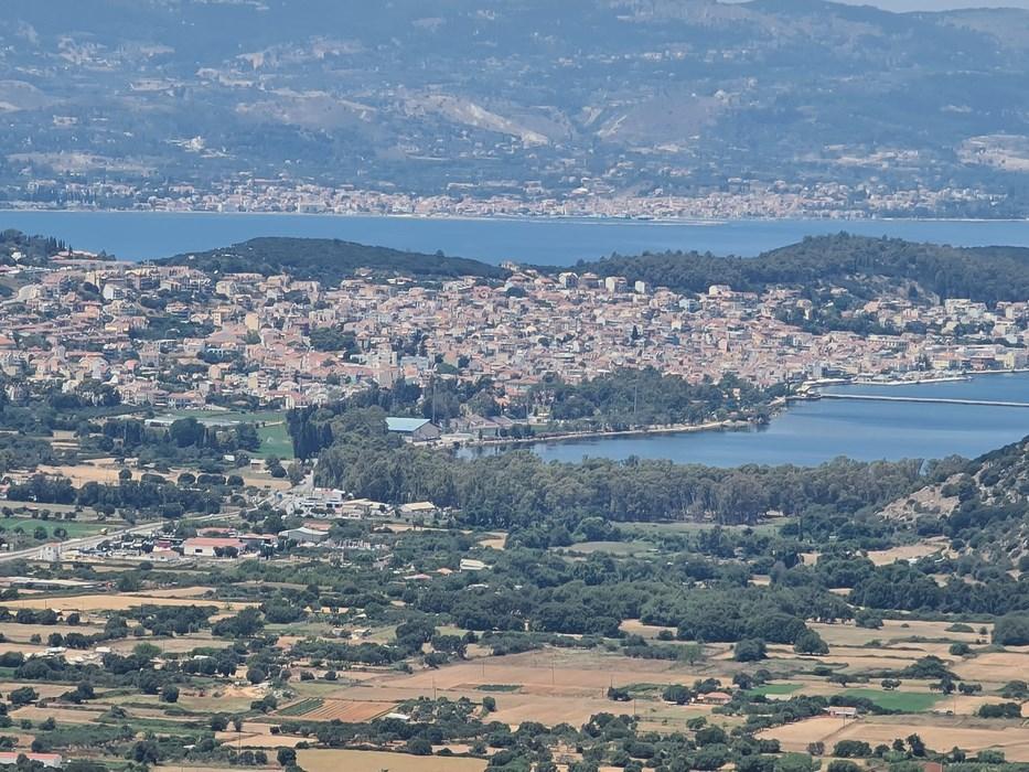 Argostoli vazut de la Cetate