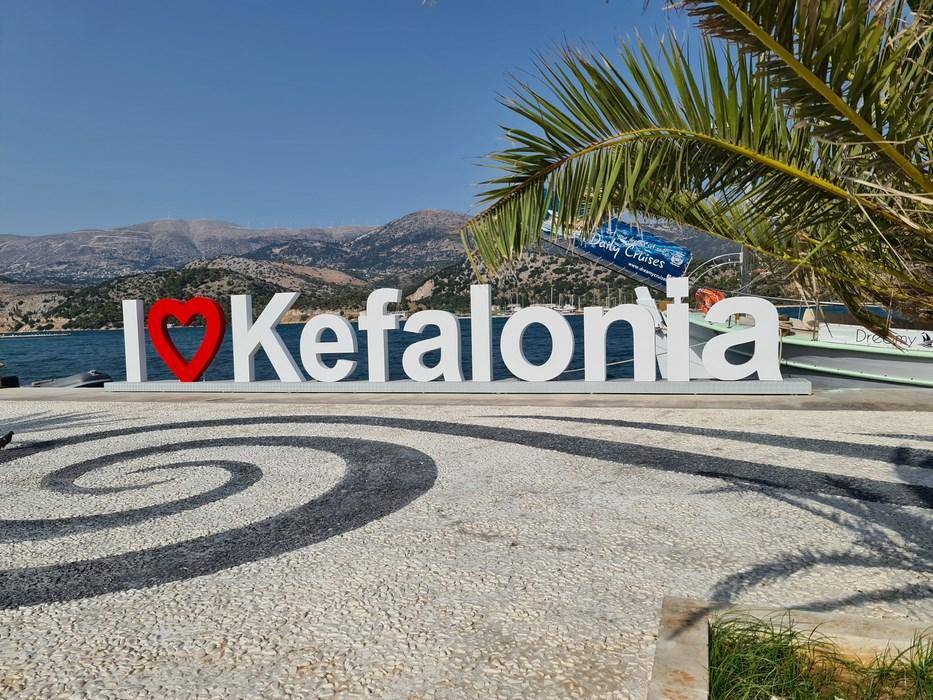 I love Kefalonia