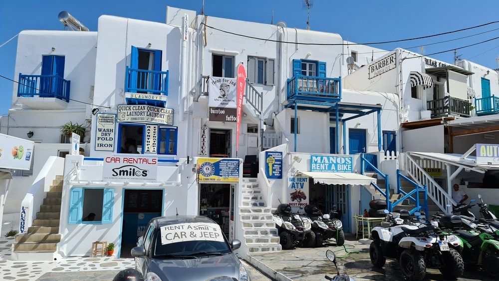 Case din Mykonos