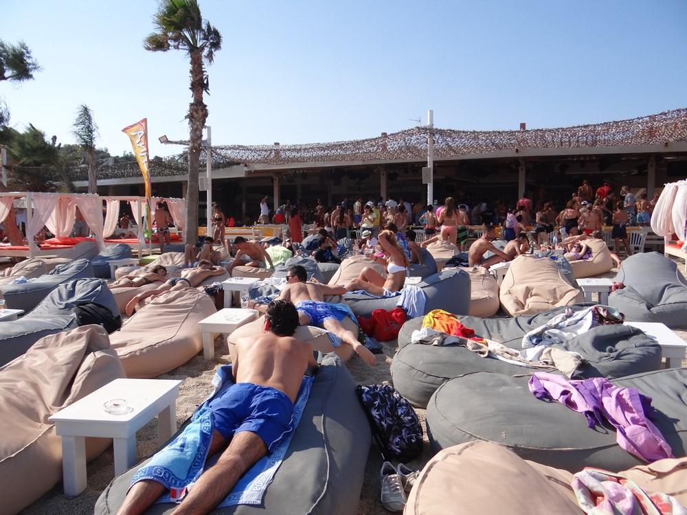 Club pe plaja Mykonos