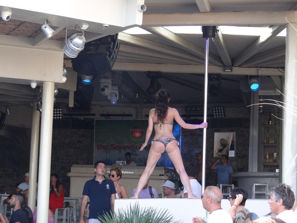 Strip tease Mykonos