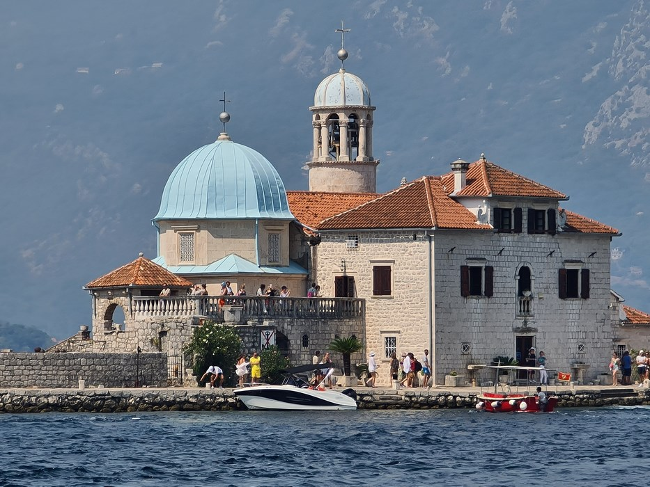 Biserica Perast Muntenegru
