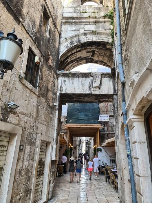 Zona medievala Split