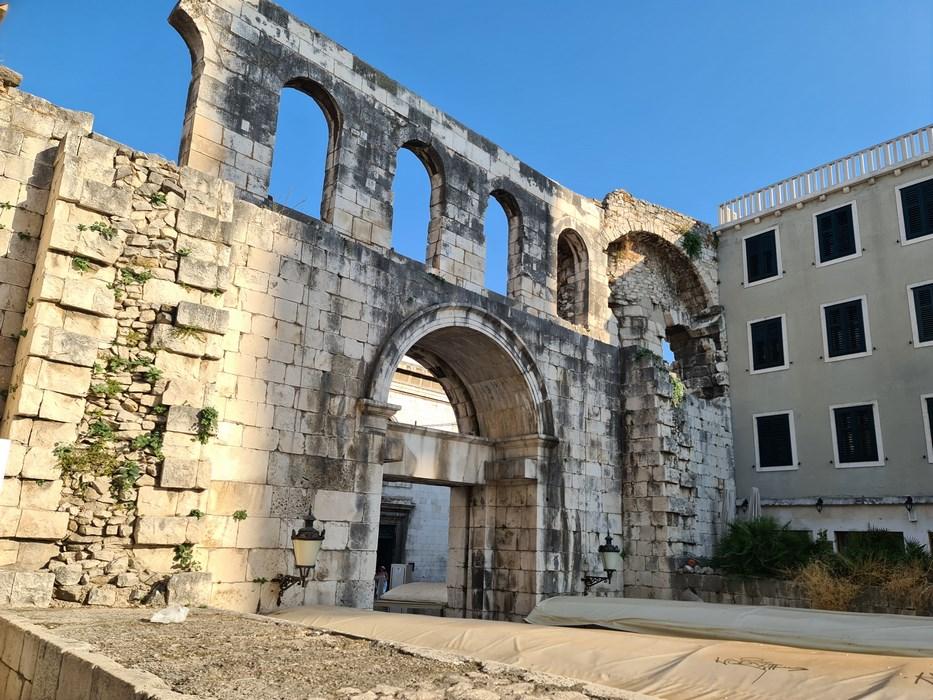 Ruine romane in Split
