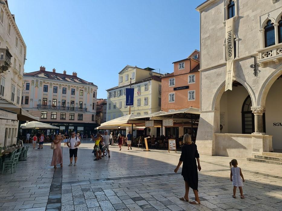 Piata in Split