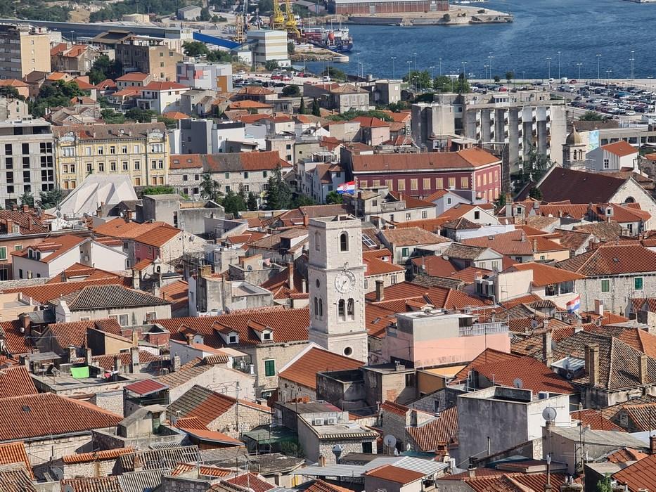 Sibenik orasul vechi