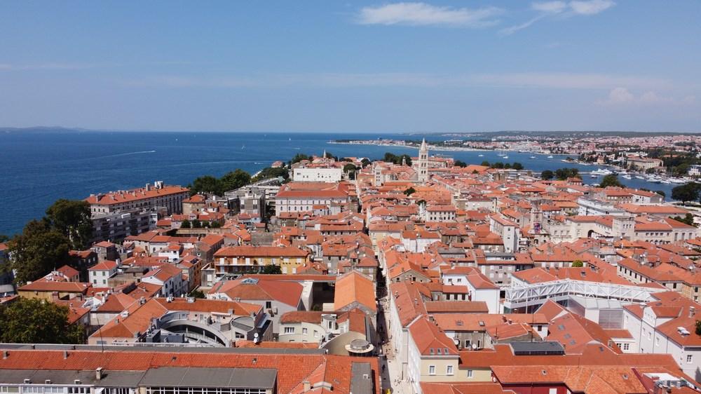 Panorama Zadar Croatia