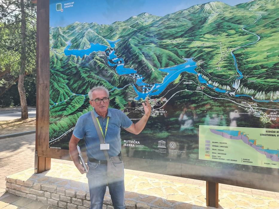 Harta Parc Plitvice