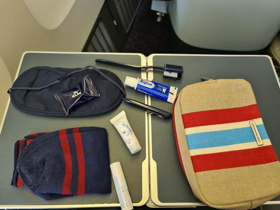 Toiletries KLM