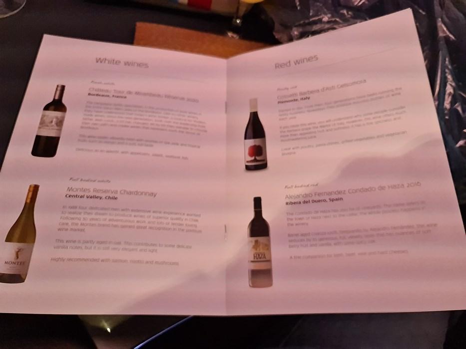 KLM wines