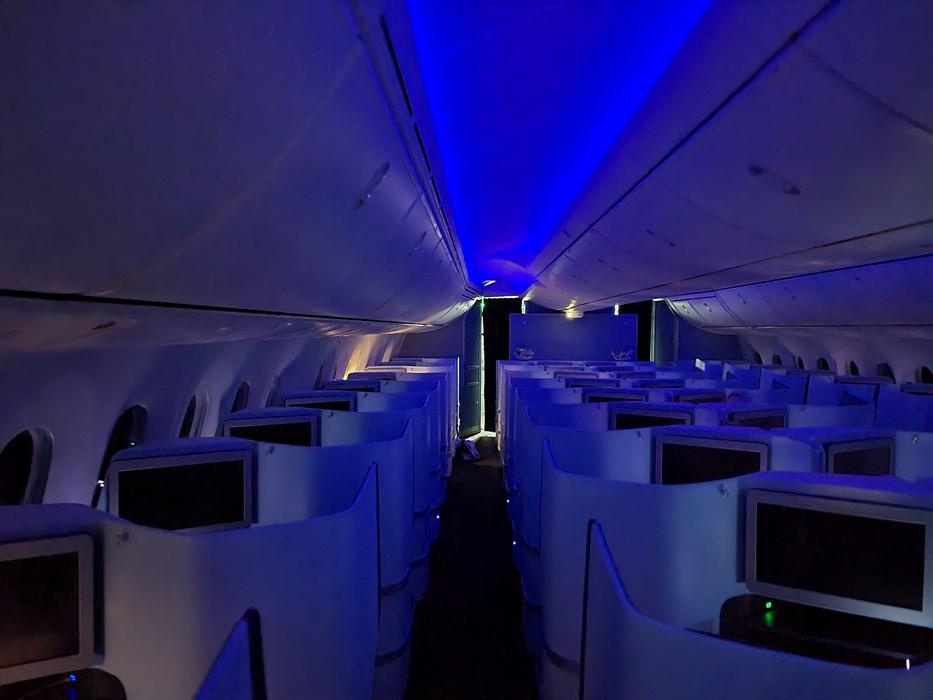 Dreamliner by night