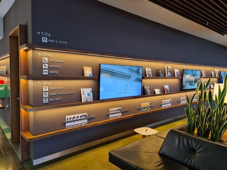 Business lounge KLM Amsterdam